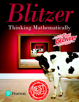 Thinking Mathematically 7th Edition 2018 By Robert F. Blitzer [PDF] Fast Deliver