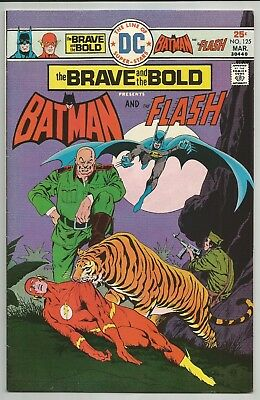 Brave & The Bold No. 125 Mar. 1976 Batman & Flash Jim Aparo Art Dc Comics Fn-Vf
