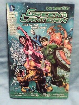 "Green Lantern - Rise Of The Third Army"" The New 52 Hardcover Brand New"