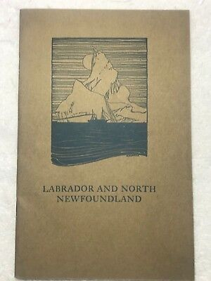Vintage 1924 Labrador and North Newfoundland Wilfred T. Grenfell History