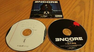PA EMINEM ENCORE 2004 2CD BOTH exc! JUST LOSE IT, MOCKINGBIRD, ASS LIKE THAT