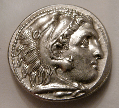 Kingdom of Macedonia, Alexander the Great Philip III Ancient Silver Drachm Coin