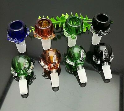 Color dragon claw glass bubble head 14mm Glass Bong Water Pipe Accessories