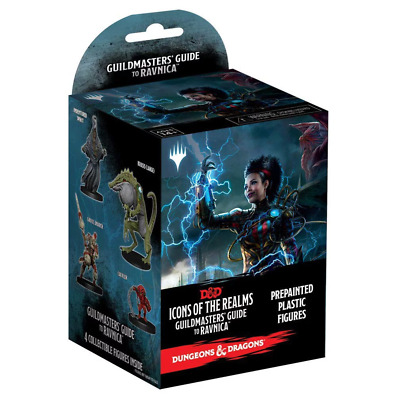 Dungeons & Dragons: Guildmaster's Guide to Ravnica Pre-Painted Figures Box NEW