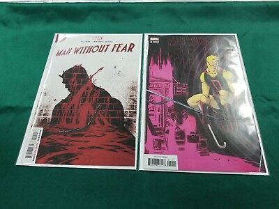 MAN WITHOUT FEAR #2 Reg/ CAMUNCOLI CONNECTING VARIANT MARVEL COMICS NM 1/9/19