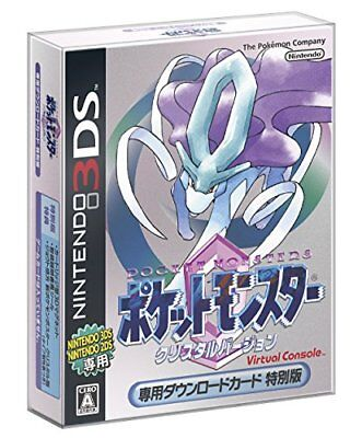 Nintendo/Pokemon 3DS Virtual Console Pocket Monster Crystal Version Card :631