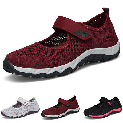 Women Sports Shoes Sneakers Soft Mesh layer Plus Size Outdoor Casual Comfort