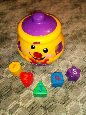 Fisher price cookie jar with shapes