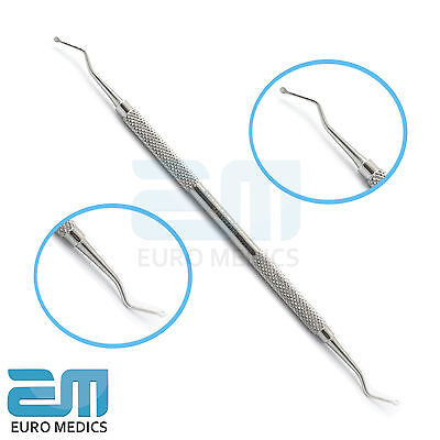 DENTAL SPOON  EXCAVATORS 129/130 1.8mm,Tooth Decay Carious Removal Enamel S.ST