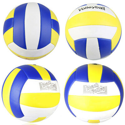 Official Size 5 PU Volleyball Handball Beach Game Match Ball Training Balls NEW!