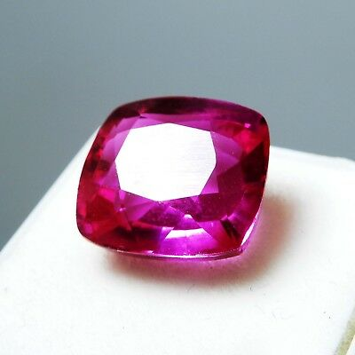 14.65 Ct Natural Certified Cushion Cut Pink Ruby Mozambique Loose Gemstone P