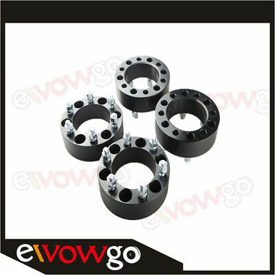 UK 4PC 50mm For Chevy Wheel Spacer Adapter 6x139.7 Silverado 1500 Tahoe Suburban