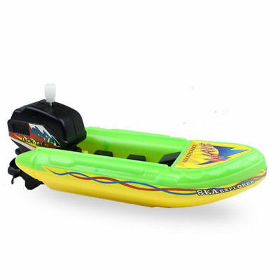 Wind Up Boat Ship Float In Water Educational  Baby Kids Bathing Shower Toys