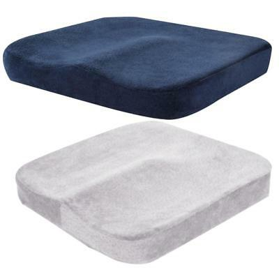 Memory Foam Car Cushion Seat Office Chair Back And Coccyx Support Travel Cushion