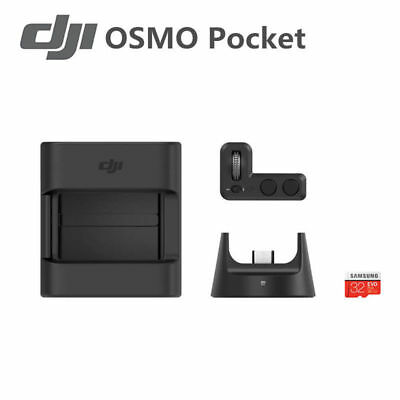 Portable DJI Osmo Pocket Expansion Kit Controller Wheel Wireless Module Mount B5