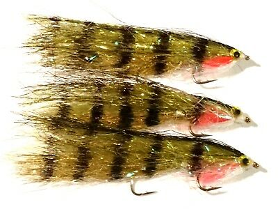 3  NEW Tandem Rutland Humongous LURES Trout Flies by Iain Barr Fly Fishing