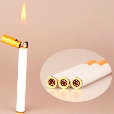 2019  Windproof Flame Cigarette Shaped Refillable Butane Gas Cigar Lighter