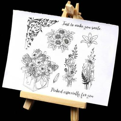 DIY Album Decorative Silicone Stamp Transparent Clear Paper Card Crafts Gifts