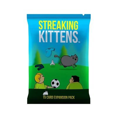 Adult Board Game Streaking Kittens Second Expansion Of Exploding Kittens Kinder