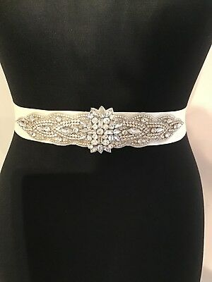 bridal sash belt