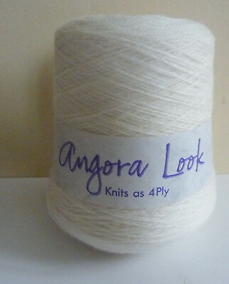 King Cole Angora Look 400g Cone Knitting Wool