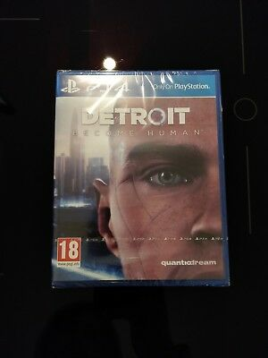 Detroit Become Human (PS4) Sealed and new
