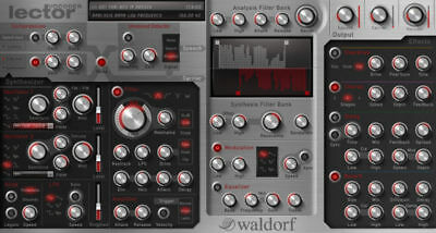 Waldorf Lector vocoder (for Windows) VST, VST3 plugin