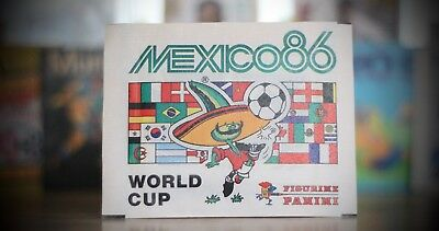 Closed Panini WORLD CUP PACKET  - Rare reprint - MEXICO 86