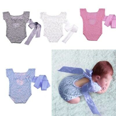 Newborn Baby Girl Boy Unisex Crochet Knit Costume Photo Photography Prop Outfits