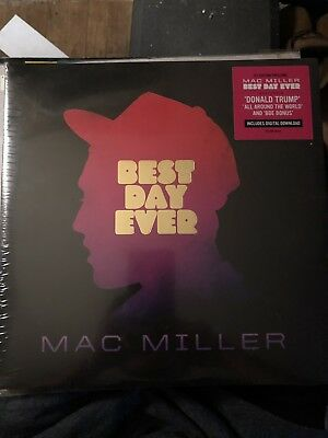 Mac miller - Best Day Ever (UNOPENED) LIMITED EDITION Double LP Vinyl