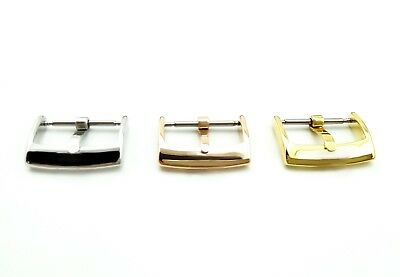 Silver/Gold Buckle/Clasp For OMEGA Watch Strap/Band 14mm 16mm 18mm 20mm + Tool