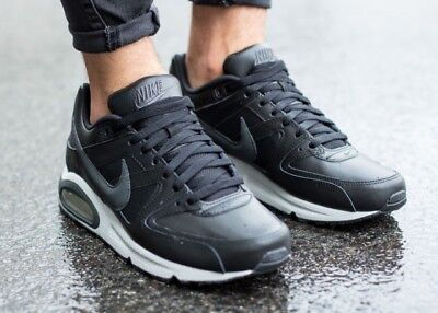 new concept c4c21 d1030 Nike Air Max Command Leather Black Anthracite Grey Uk Size 8 749760 001