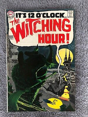 It's 12 O'Clock The Witching Hour # 1 DC Comic Book Horror Fear Scary