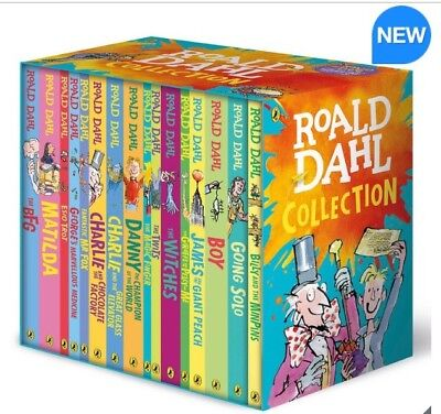 Roald Dahl Collection 16 Paperback Book Boxed Set Box Set Childrens Books Gift