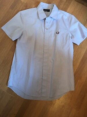 Boys Fred Perry Shirt Age 14-16 Years