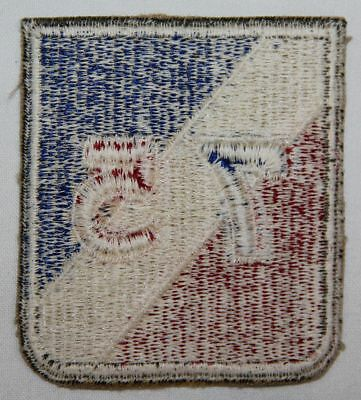 Original Wwii 75Th Infantry Division Patch, Nice White Back