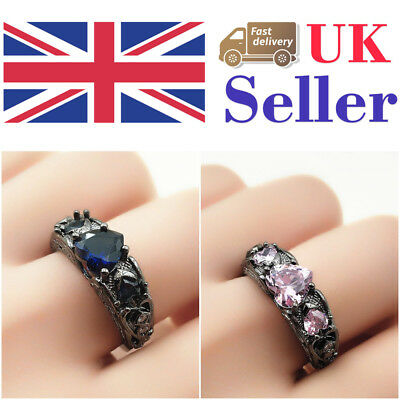 Ring Women Stainless Steel Black High Quality Carbon Fiber Inlay Wedding Band