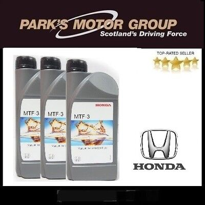 Genuine New Honda Ultra MTF-3 3L - 0826799902HE x 3