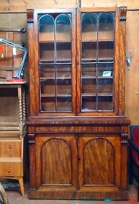 Beautiful Victorian Library Display Cabinet or haberdashery bookcase