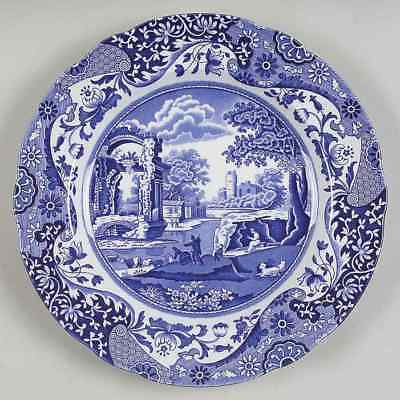 "SPODE Blue Italian 7 1/2"" Dessert/Salad Plate - England - 8 available"