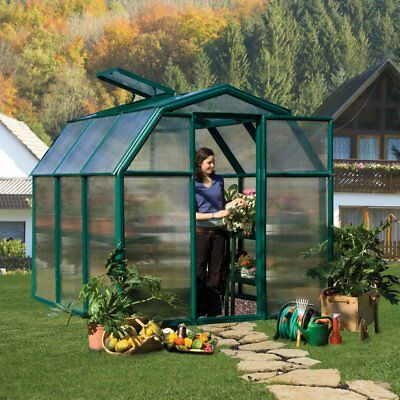 Rion EcoGrow 2 Twin Wall Greenhouse