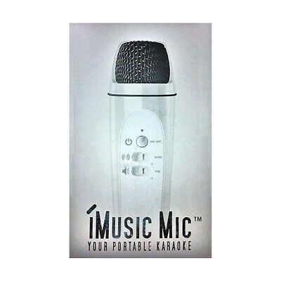 Sunfly iMusic iMic Karaoke Microphone - for iPad, iPhone, Laptop & Mobile Phone