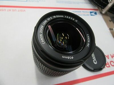 Canon EF-S 18-55mm 1:3.5-5.6 IS Lens