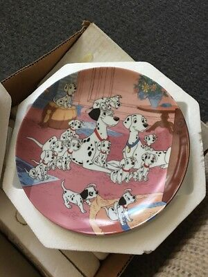 Watch Dogs 101 Dalmatians Bradford Exchange Collector Plate With COA