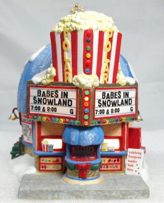 """new"" Dept 56 North Pole ""polar Palace Theater"" Lighted"