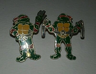 PIN'S .. lot de 2 tortue ninja