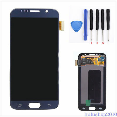 Blue LCD Touch Screen Digitizer For Samsung Galaxy S6 G920 G920A G920F S6 Active