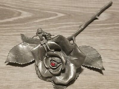 Rawcliffe Pewter Rose With Fairy