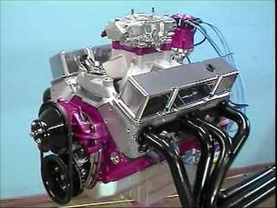 The 600 Horse 383 Chevy Small Block - Built Step by Step On A Budget - 7 Hr DVD