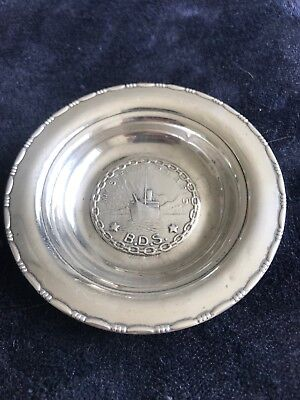 830 Coin Silver Dish from Scandinavia